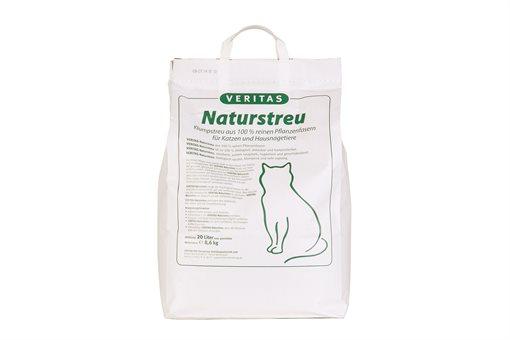 VERITAS Naturstreu 20 l für Katzen & Hausnagetiere
