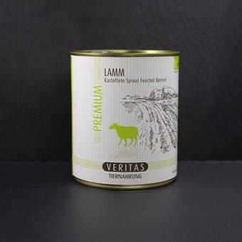 VERITAS Premium Lammfleisch 800g Dose